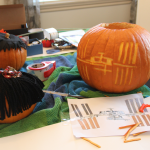 The Making Of ISS-Above Pumpkin