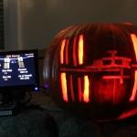 ISS Above Pumpkin