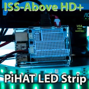iss-above-HD-Plus-PiHat-LED-Strip